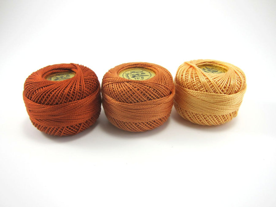 Autumn Finca Perle Cotton Thread Set Perle Cotton - Snuggly Monkey