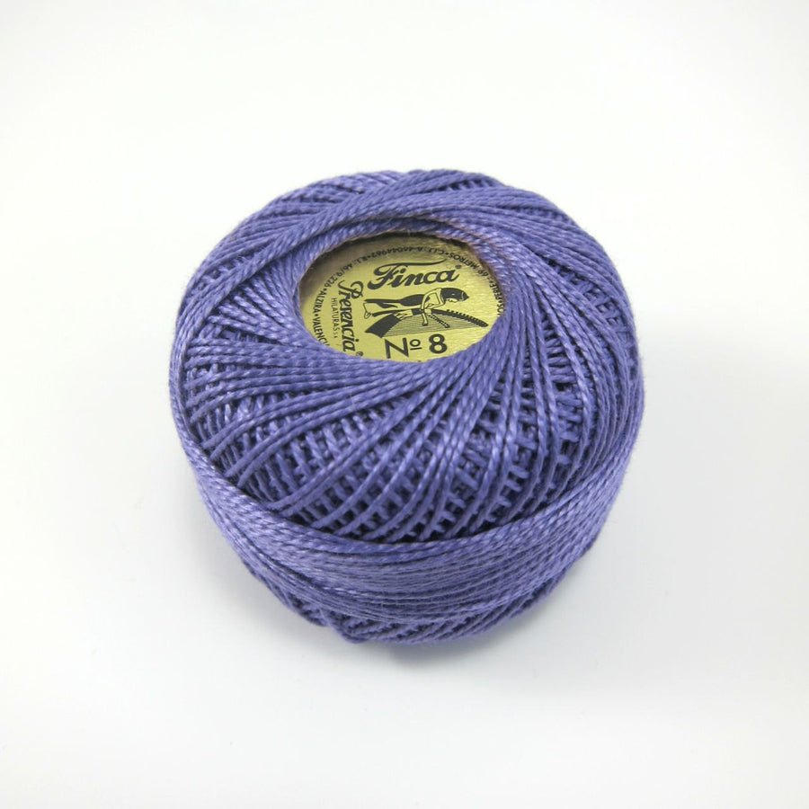 Lavender Finca Perle Cotton Thread (2699) Perle Cotton - Snuggly Monkey