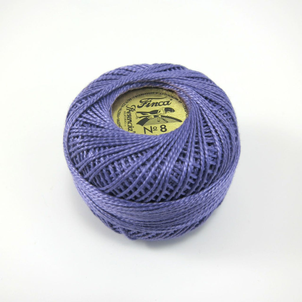 Midnight Finca Perle Cotton Thread Set