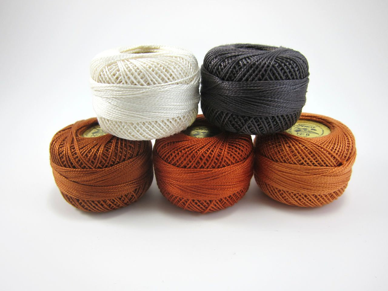Fall Breeze Finca Perle Cotton Thread Set Perle Cotton - Snuggly Monkey