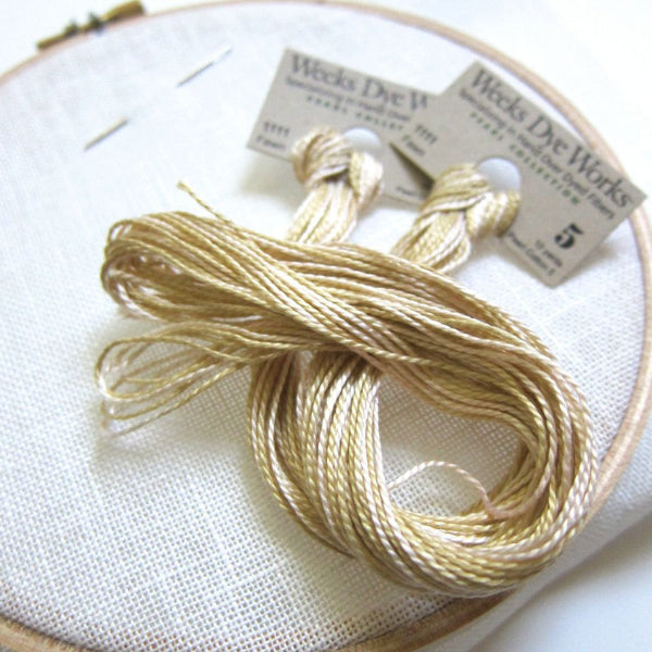 Weeks Dye Works Perle Cotton Floss - Fawn (Size 5) Perle Cotton - Snuggly Monkey