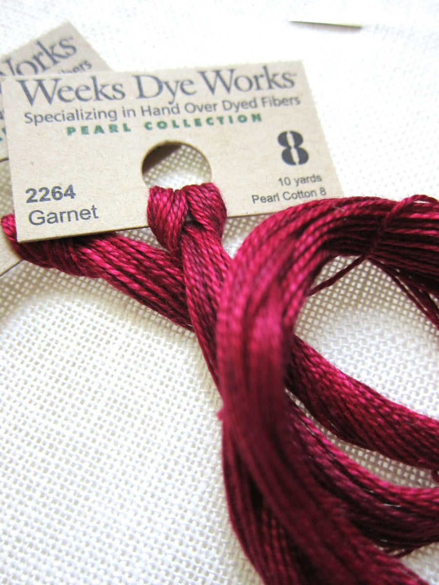 Weeks Dye Works Pearl Cotton - Garnet (Size 8)