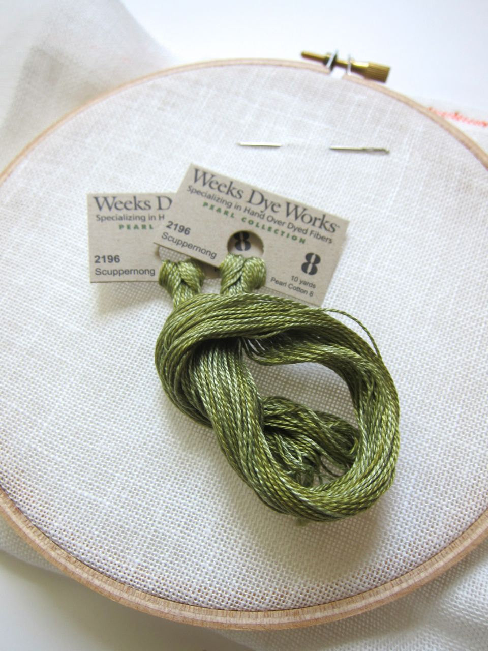 Pearl Cotton Thread - Weeks Dye Works Scuppernong (2196) Size 8 Perle Cotton - Snuggly Monkey
