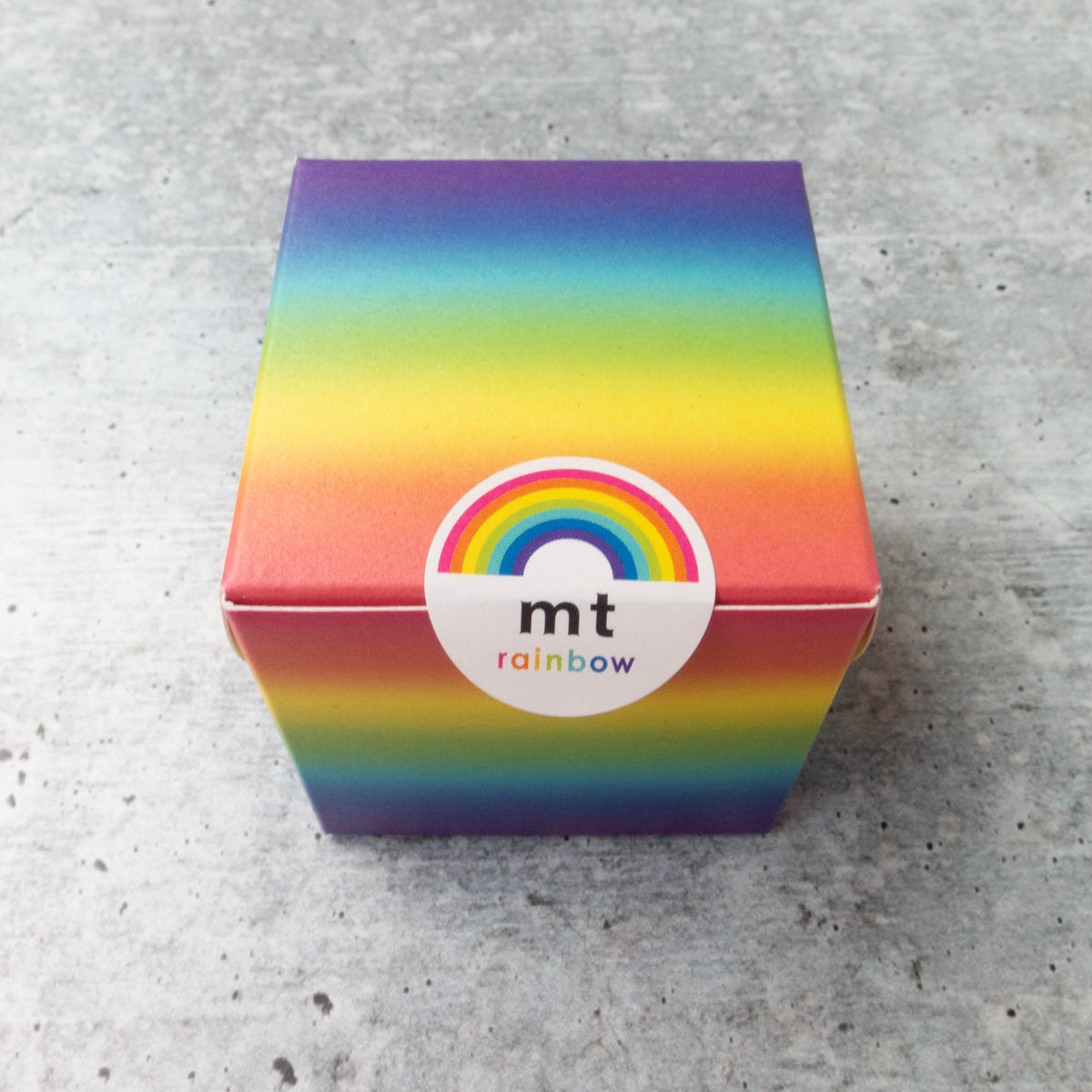 mt Washi Tape - Thin Rainbow Collection