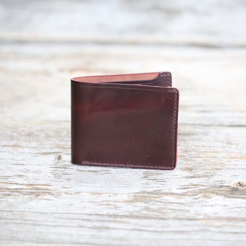 The Astor Shell Cordovan Wallet