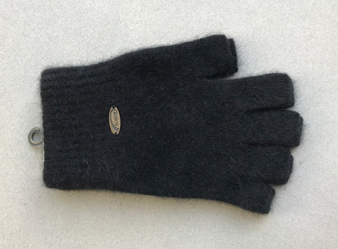 Gloves  Fingerless - Black