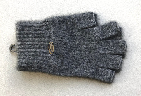 Gloves, Fingerless - Grey