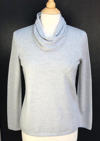 Loose Neck Jumper - Silver