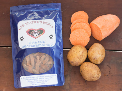 Bison Sweet Potato Grain Free Treats