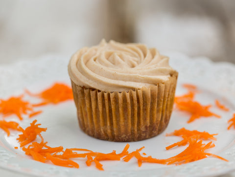 Carrot Orange Cupcakes (4 pc)