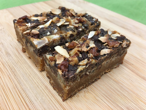 Magic bars (Gluten Free)