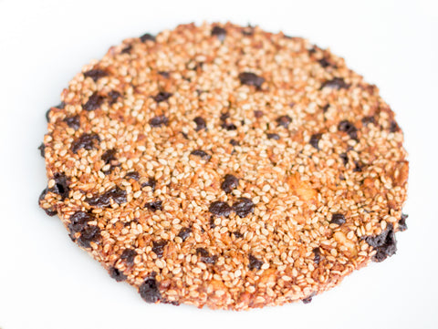 Chocolate Sesame Circle