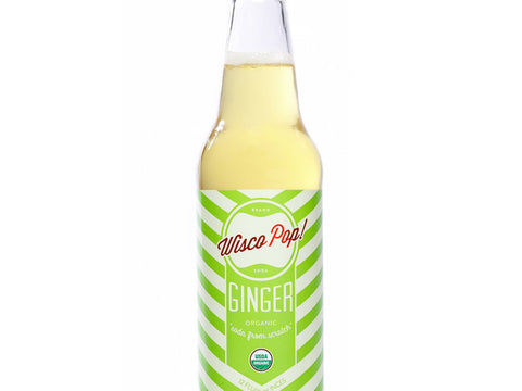 Organic Ginger Soda (Buy 4 Get 1 Free)