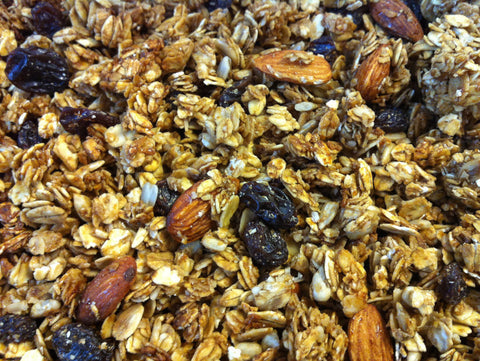 Molasses Almond Raisin Granola