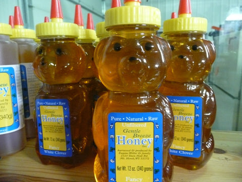 White Clover Honey Bear
