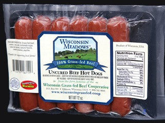 Beef Hot Dogs (12 pack)