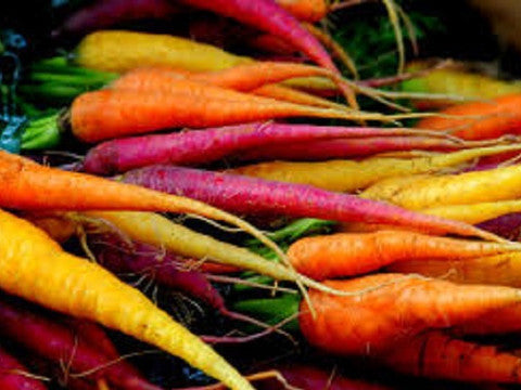 Rainbow carrots - SALE!