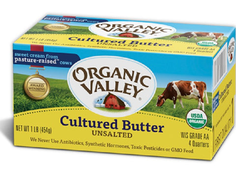 Unsalted Cultured Butter -  Buy 1 Get 1 FREE!