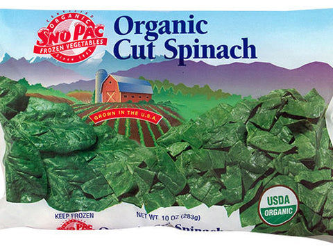Cut Leaf Spinach (Frozen)