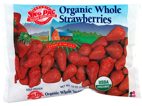 Whole Strawberries (Frozen)