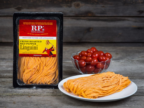 Roasted Red Pepper Linguini