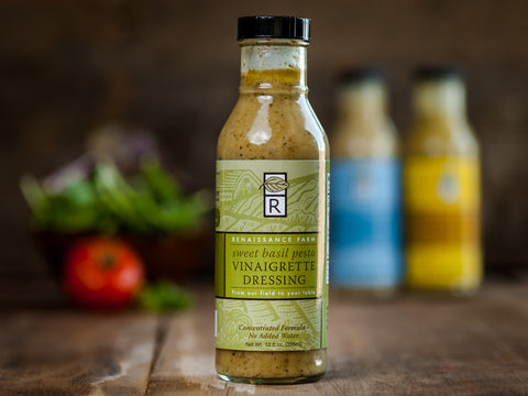 Sweet Basil Pesto Vinaigrette