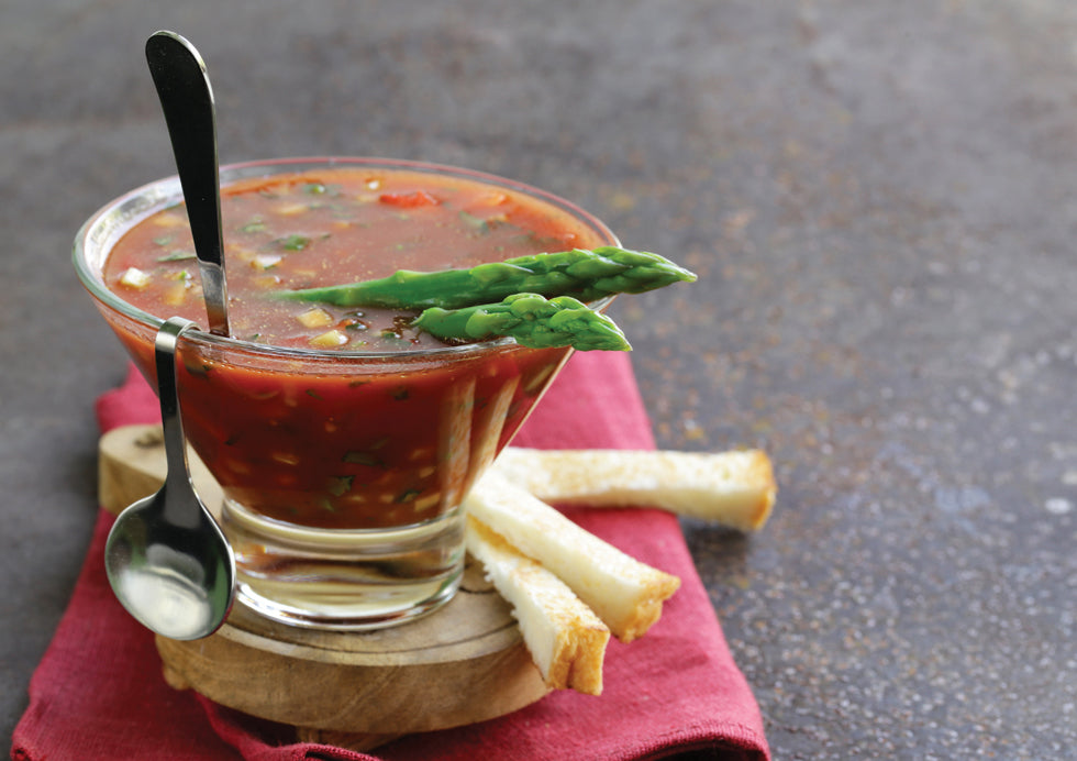 Bruce Julian Bloody Mary Gazpacho Recipe