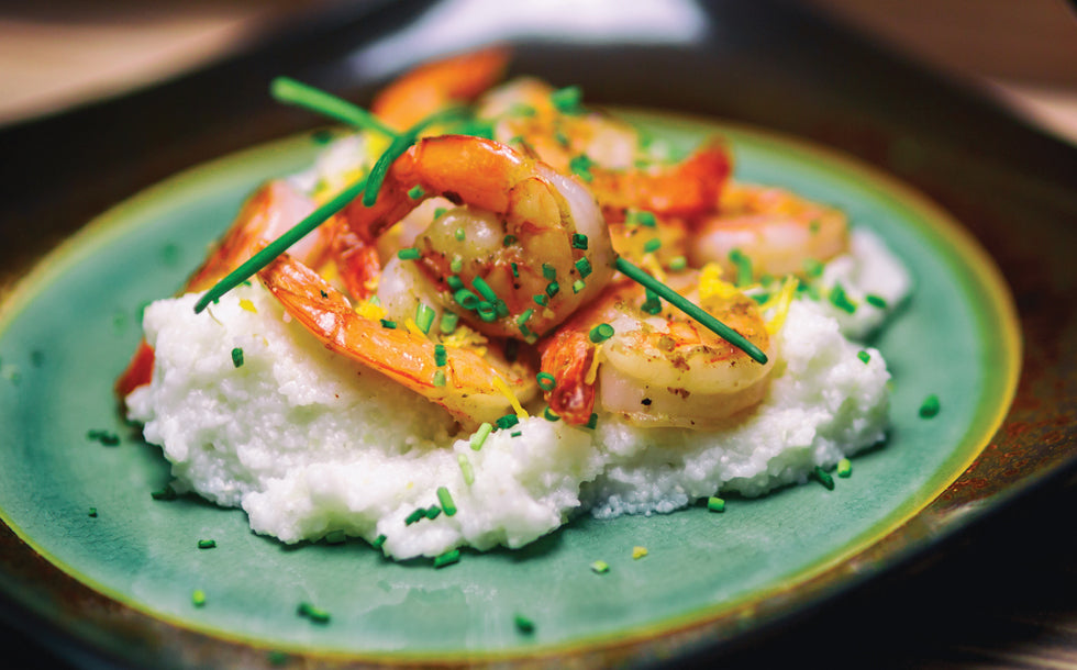 Bruce Julian Shrimp and Grits Recipe