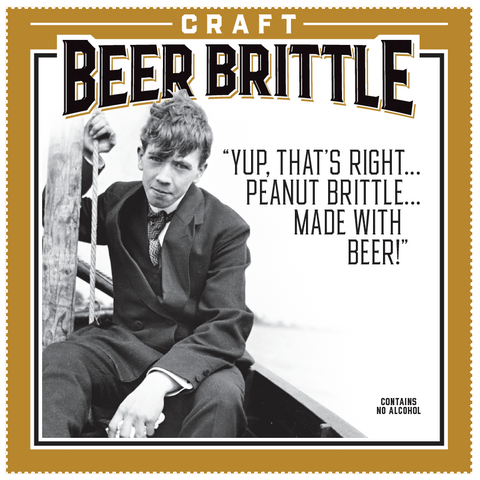 Craft Beer Peanut Brittle - BB