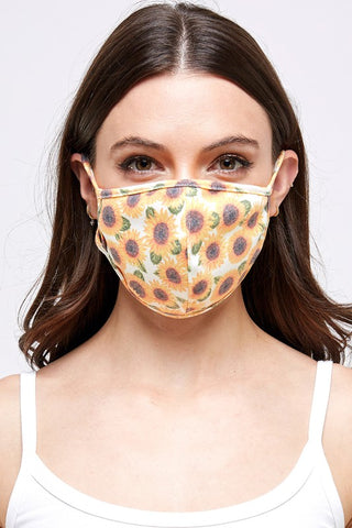 Fun Print Face Masks-Multilayered W/ Filter Pocket-USA Made
