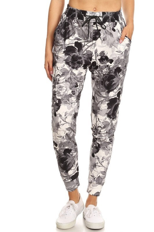 Monochromatic Rose Jogger - Super Soft