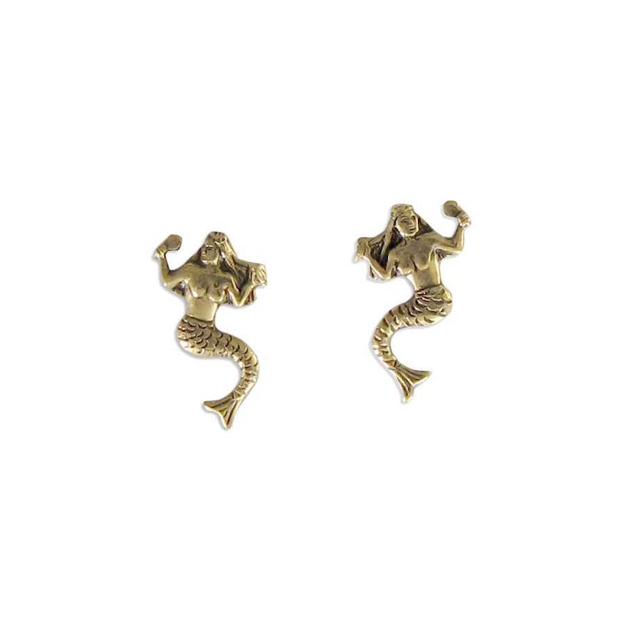 Mermaid Stud Earrings - More Coming Soon!