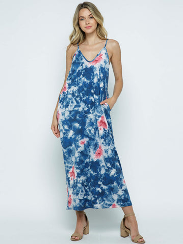 Hippie Crush Maxi Dress - USA Made