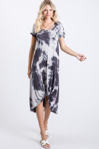 Ultra Soft Tie-Dye Dress  - USA Made