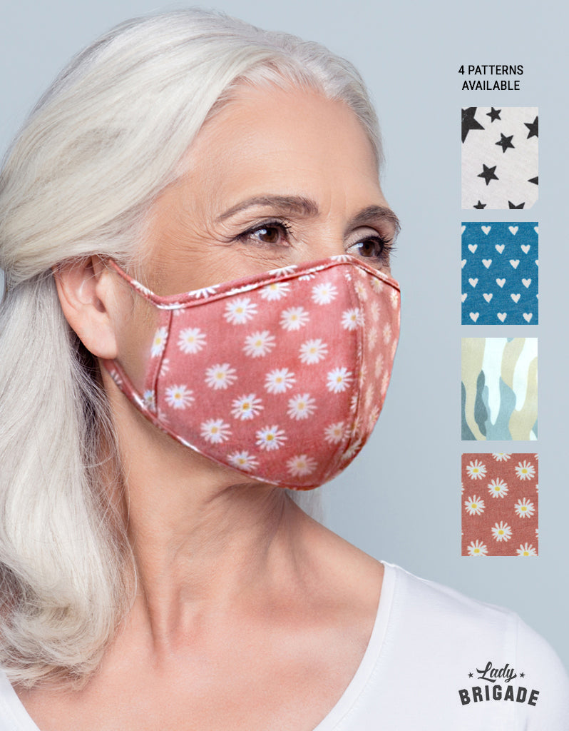 Double Layered Face Mask with Insert Space for Filter- USA MADE!