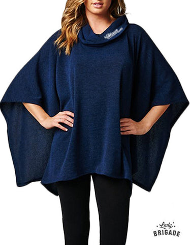 Veteran Embroidered Poncho ***Limited Edition***
