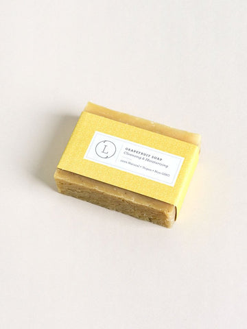 All-Natural Bar Soap Grapefruit Scent