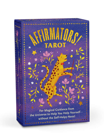 Image of Affirmator Tarot Card Deck Box for Magical Guidance from the universe