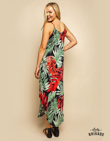 Into the Tropics - Maxi Dress - USA Made
