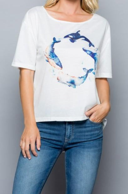 blue-whales-on-white-tee-front