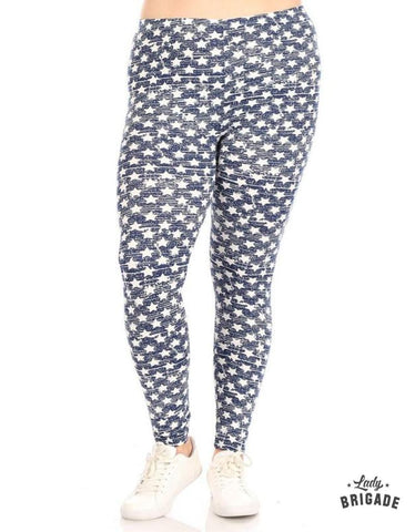 Seeing Stars Leggings - Plus