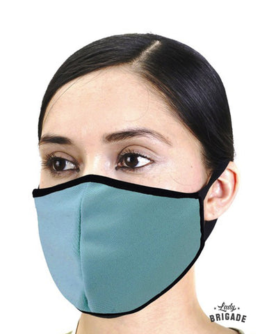 Solid Color Face Masks-Multilayered W/ Filter Pocket - USA Made
