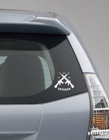 OIF - OND- OEF Car Decal (Set of 2)