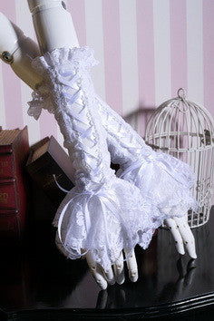 1016 Long Lace Gloves