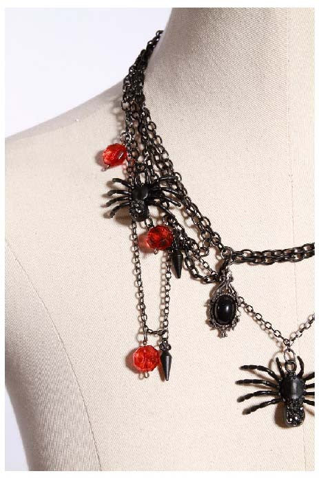 1021 Spider Necklace