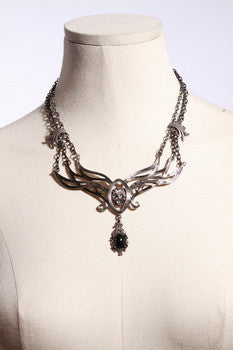 1023 Decadent Skull Necklace