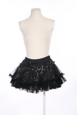 21024 Punky Paint Splatter Skirt