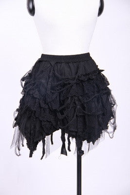 21032 Distressed Skirt