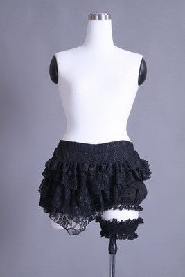 21071 Punk Bloomers With Garter