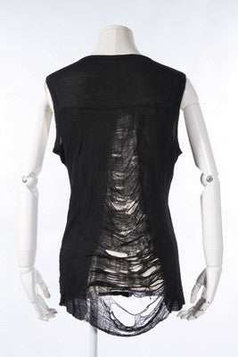 21145 Shredded Punk Tank Top